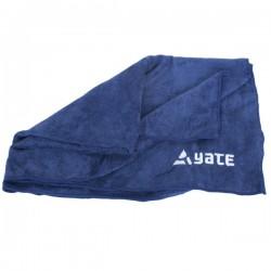 Yate Cestovní ručník L modrý 61 x 89 cm froté úprava, rychleschnoucí, vysoce absorpční