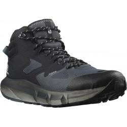 Salomon Predict Hike Mid GTX Ebony/black 414609 pánské nepromokavé trekové boty