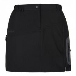 Kilpi Ana-W černá dámská outdoorová funkční sportovní sukně