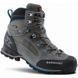 Garmont Rambler 2.0 GTX W warm grey/aquablue dámské nepromokavé kombinované trekové boty