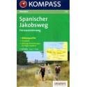Kompass 133 Spanischer Jakobsweg 1:100 000 turistická mapa