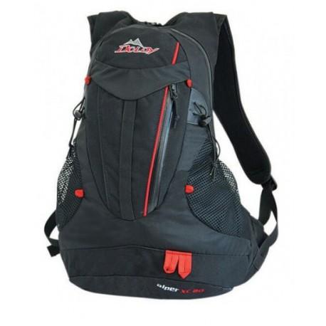 Doldy Alper XC 20 černá/červená turistický batoh