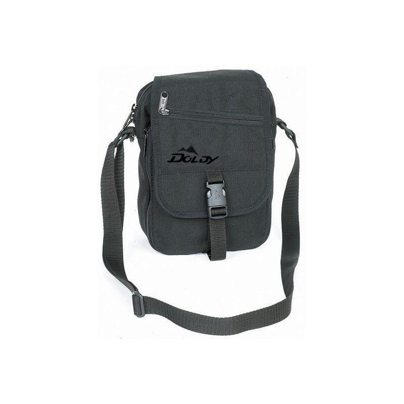 43bc4777af6 Doldy Trekingová taška Cordura černá příruční taška přes rameno