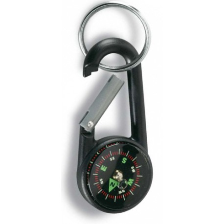 Karabina s kompasem černá