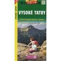 SHOCart 1097 Vysoké Tatry 1:50 000 turistická mapa