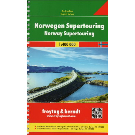 Norsko autoatlas 1:400 000
