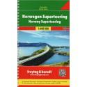 Freytag a Berndt Norsko Supertouring 1:400 000 autoatlas