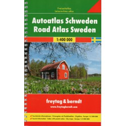Freytag a Berndt Švédsko Supertouring 1:400 000 autoatlas