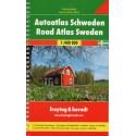 Freytag a Berndt Švédsko 1:400 000 autoatlas