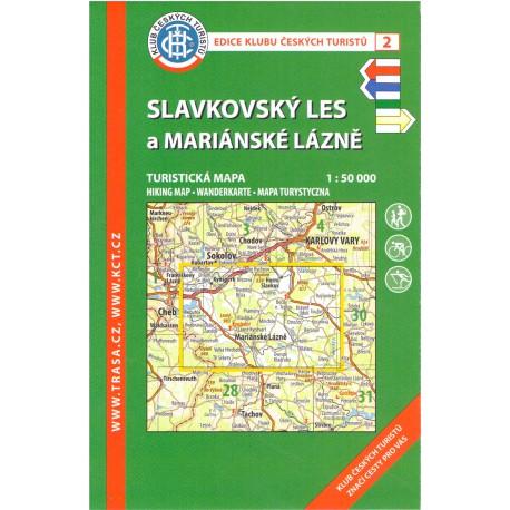 KČT 2 Slavkovský les a Mariánské lázně 1:50 000
