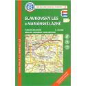 KČT 2 Slavkovský les a Mariánské lázně 1:50 000 turistická mapa