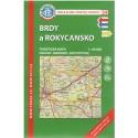 KČT 34 Brdy a Rokycansko 1:50 000 turistická mapa