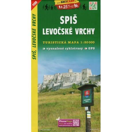 SHOCart 1109 Spiš, Levočské vrchy 1:50 000