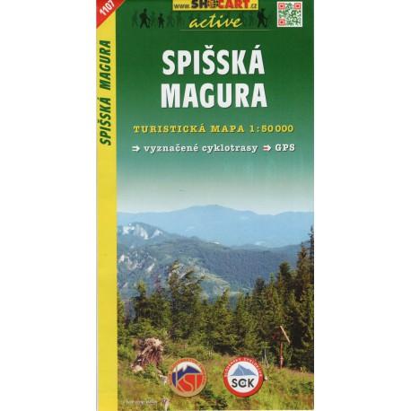 SHOCart 1107 Spišská magura 1:50 000