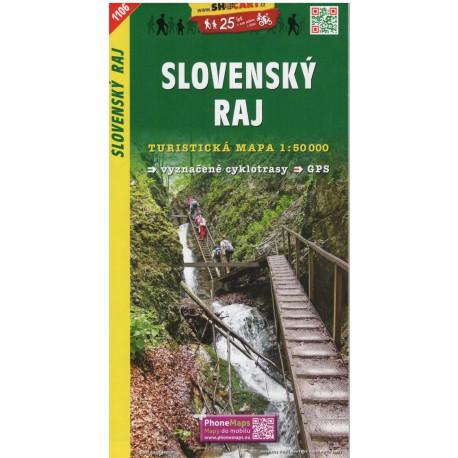 SHOCart 1106 Slovenský raj 1:50 000