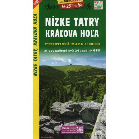 SHOCart 1102 Nízké tatry, Králova Hola 1:50 000