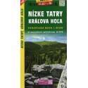 SHOCart 1102 Nízké Tatry, Kráľova hoľa 1:50 000 turistická mapa