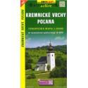 SHOCart 1093 Kremnické vrchy, Poľana 1:50 000 turistická mapa