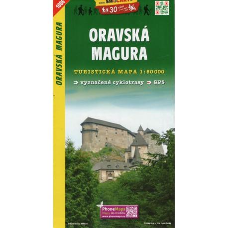 SHOCart 1086 Oravská Magura 1:50 000 turistická mapa