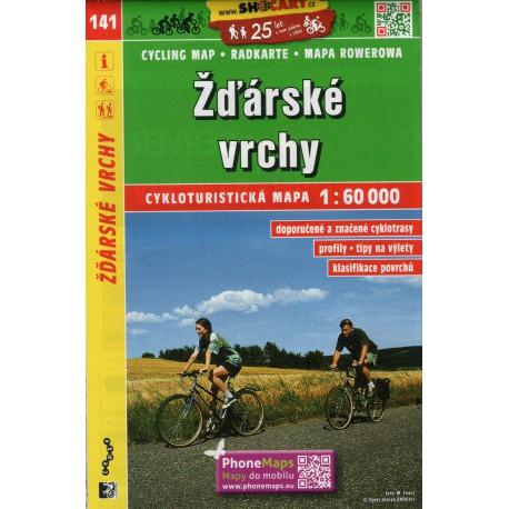 SHOCart 141 Žďárské vrchy 1:60 000