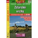 SHOCart 141 Žďárské vrchy 1:60 000 cykloturistická mapa