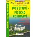 SHOCart 213 Povltaví - Písecko, Prachaticko 1:100 000 turistická mapa
