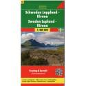 Freytag a Berndt Švédsko 6 - Laponsko 1:400 000 automapa