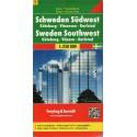 Freytag a Berndt Švédsko 2 - jihozápad 1:250 000 automapa