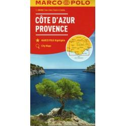 Marco Polo Azurové pobřeží, Provence 1:200 000 automapa