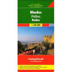Freytag Rhodos 1:100 000