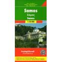Freytag a Berndt Samos 1:50 000 turistická mapa