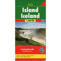 Freytag a Berndt Island 1:400 000 automapa