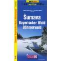 SHOCart Šumava 1:75 000 zimní turistická a lyžařská mapa