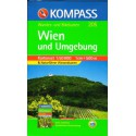 Kompass 205 Wien/Vídeň a okolí 1:50 000 turistická mapa