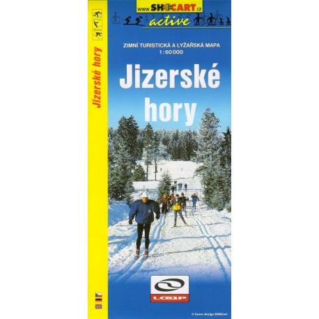 Shocart Jizerské hory - lyžařská mapa 1:60 000