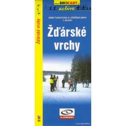 SHOCart Žďárské vrchy 1:60 000 zimní turistická a lyžařská mapa