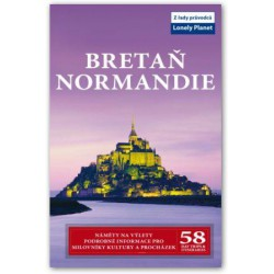 Bretaň a Normandie - průvodce Lonely Planet