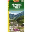 SHOCart 1096 Západné Tatry 1:50 000 turistická mapa