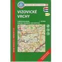 KČT 93 Vizovické vrchy 1:50 000 turistická mapa