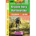 SHOCart 121 Krušné hory, Karlovarsko 1:60 000 cykloturistická mapa