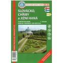 KČT 89-90 Slovácko, Chřiby a Jižní Haná 1:50 000 turistická mapa