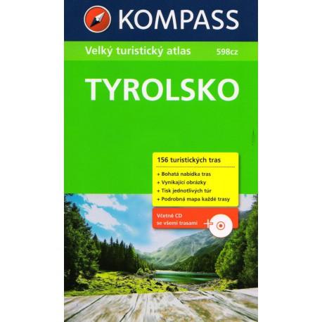 Tyrolsko - Velký turistický průvodce + CD