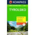 Kompass Tyrolsko Velký turistický průvodce + CD