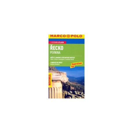 Řecko pevnina - průvodce Marco Polo