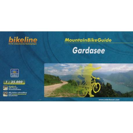 Bikeline Gardasee 1:35 000 cykloprůvodce