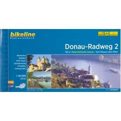 Bikeline Donau-Radweg 2/Dunajská cyklostezka 2 1:50 000 cykloprůvodce