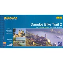 Bikeline Danube Bike Trail 2/Dunajská cyklostezka 2 1:50 000 cykloprůvodce