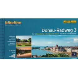 Dunajská cyklostezka 3 (Donau-Radweg) 1:75 000 cykloprůvodce