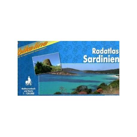 Bikeline Sardinie 1:120 000 cykloprůvodce