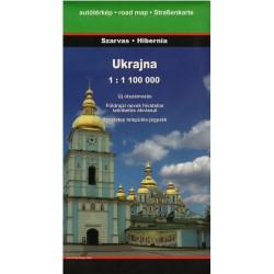 Dimap Ukrajina 1:1 100 000 automapa